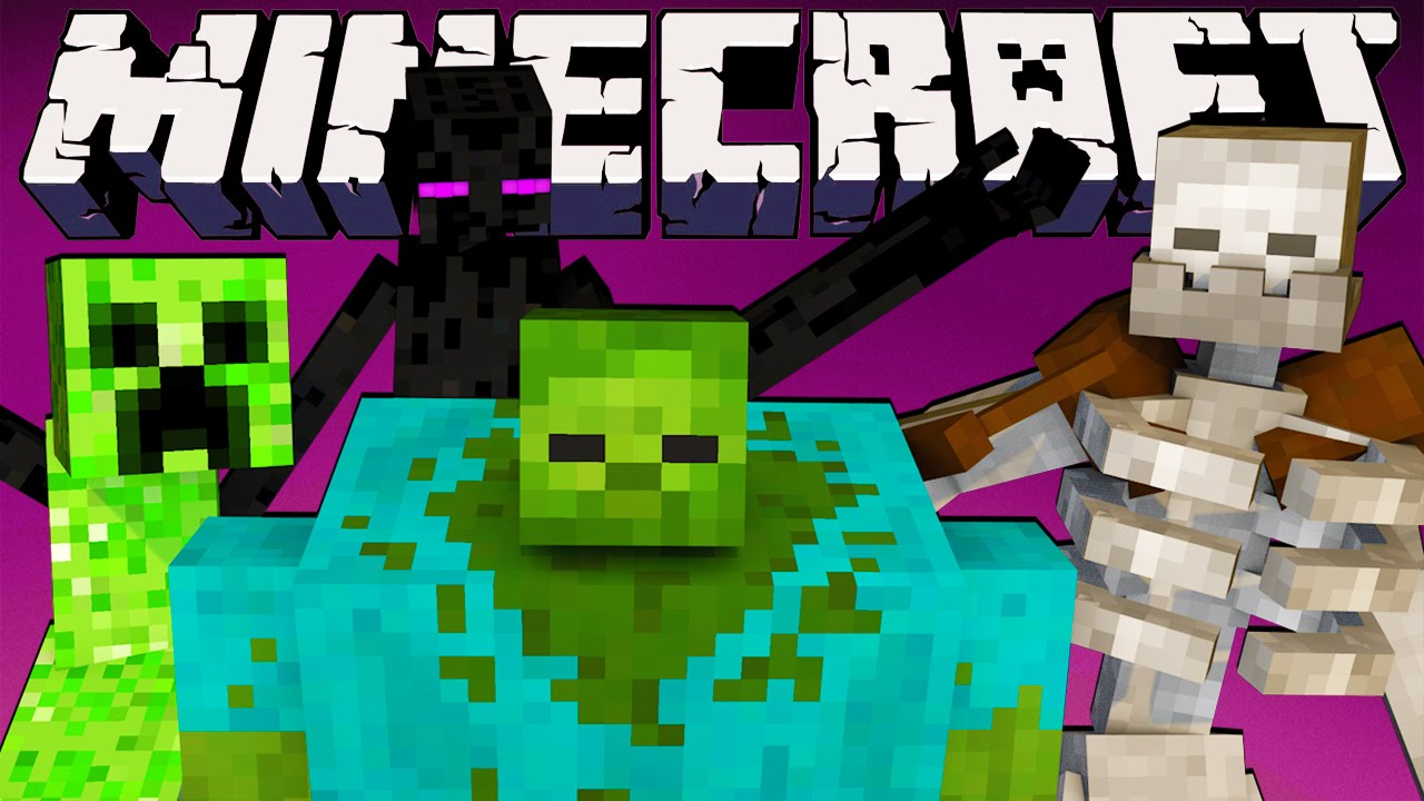 minecraft crazy craft games mutant creature challenge