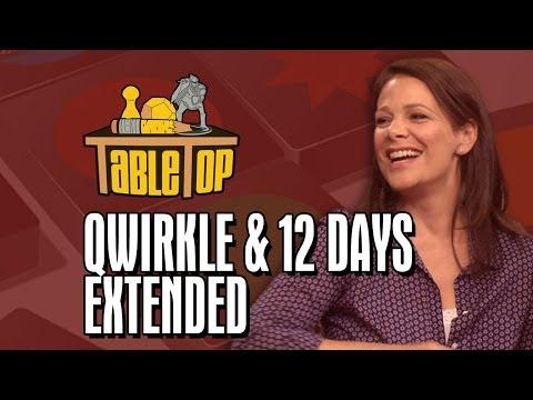 TableTop : Qwirkle and 12 Days Kelly Hu, Wil Wheaton, Meredith Salenger, and Nolan Kopp