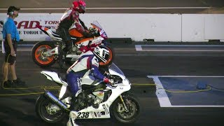 The Race Bikes-CBR 1000RR Vs R1M Yamaha -drag Racing,acceleration And Top Speed