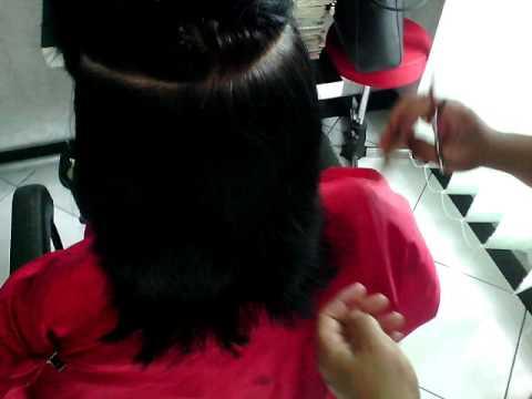 Cara Potong Rambut Segi Pendek Untuk Wanita ( Video Tutorial - Ulfa Salon ) 9e9c623e22