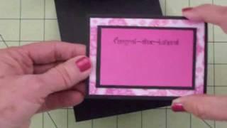 Paper Playtime Guest Designer Easel Card