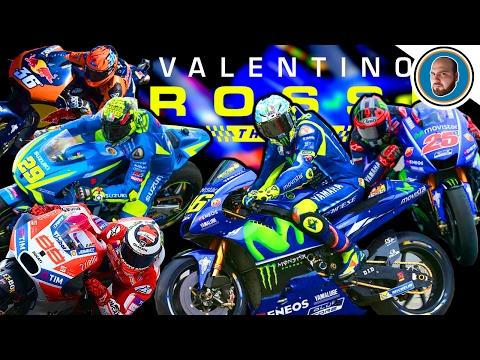 MOD MotoGP 2017 COMPLETA - Piloti e Moto Valentino Rossi The Game