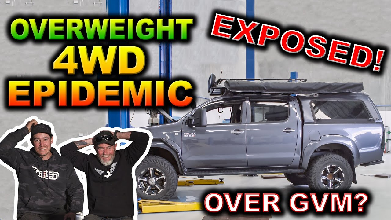We weighed 50 4WDs - How many were over GVM? Shocking common suspension issues you need to fix NOW!