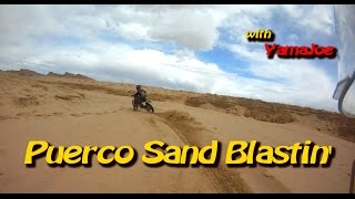 Rio Puerco New Mexicio Sand Blasting