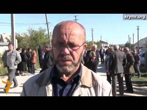 Сход крымских татар