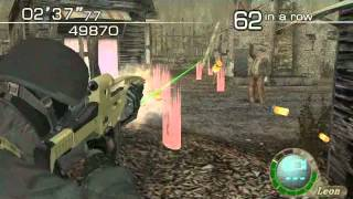 Resident Evil 4 The Mercenaries (El Pueblo) Chicago Typewriter Run