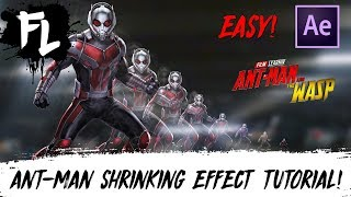 Ant-Man and The Wasp Shrinking Effect Tutorial! | Film Learnin