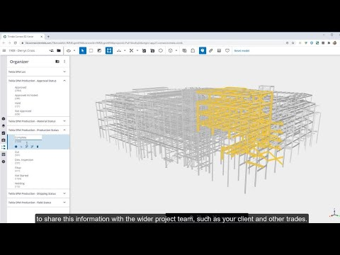 Using Trimble Connect in Steel Fabrication