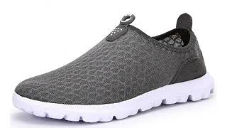 Must See Shoe Review 2018! JUAN Men's Lightweight Fashion Mesh Sneakers Breathable Athletic Outdo..