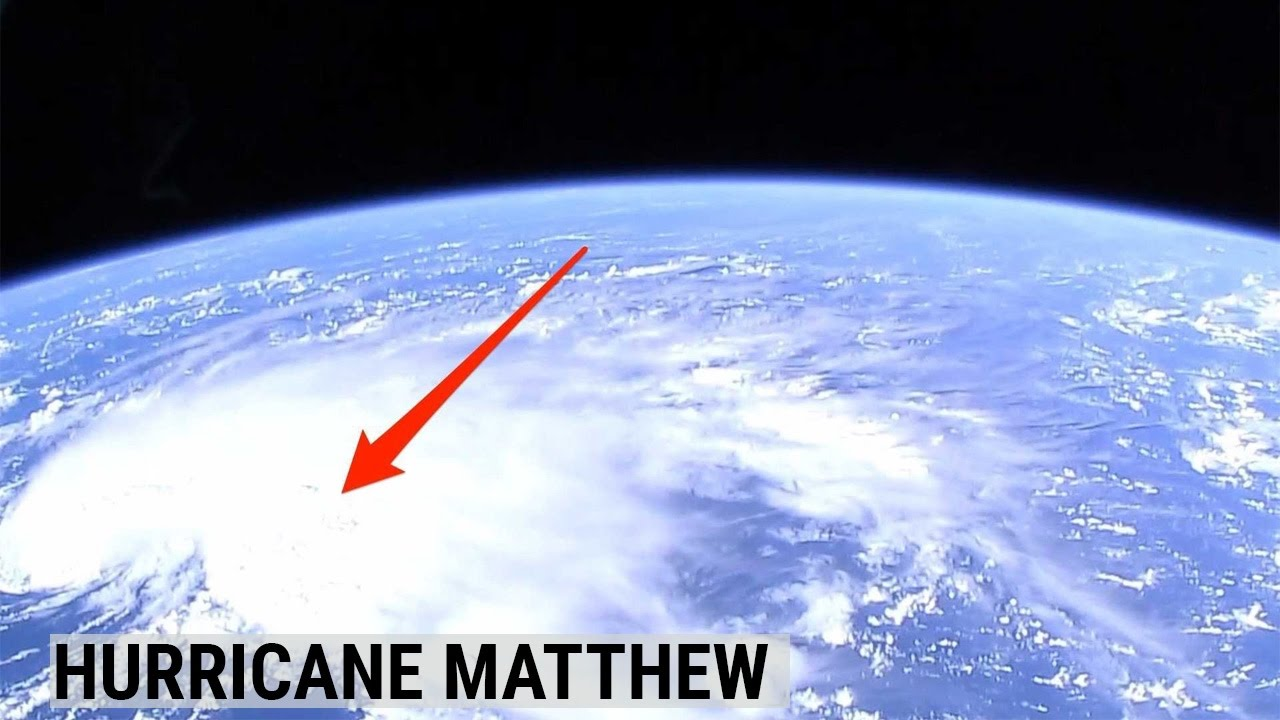 NASA Released New Satellite Footage Of Hurricane Matthew YouTube - Satellite footage