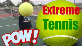 Extreme tennis game