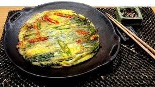 How To Make Korean Seafoods Pancake 韓式海鮮煎餅 : Panjeon 韓國美食之旅 Korea Trip Episode 3