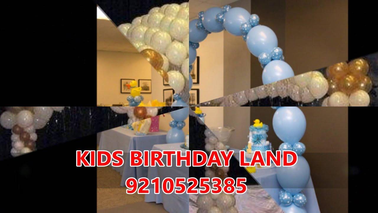 Kids 1st Birthday Theme Party Planner Organizer in Delhi Noida