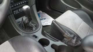 03 Mustang Cobra Interior