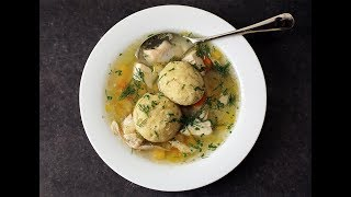 Andrew Zimmern Cooks:  Matzoh Ball Soup