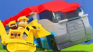 Rubble, Feuerwehrmann Marshall, Ryder & Chase Spielzeugautos | Neue Folgen für Kinder deutsch