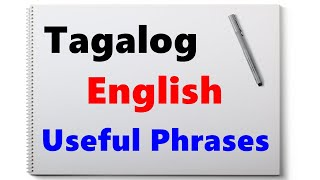 Learn Tagalog - (Part 25) More Useful Phrases