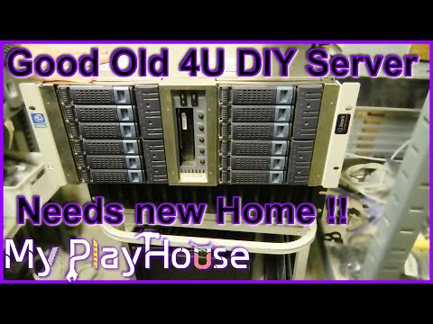Getting rid of old 4U Server, making Room at My PlayHouse - 872