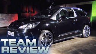Team Review: Citroën DS3 Cabrio - Fifth Gear