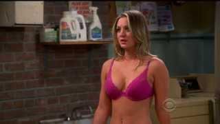 Repeat youtube video Kaley Cuoco - hot Christmas bra