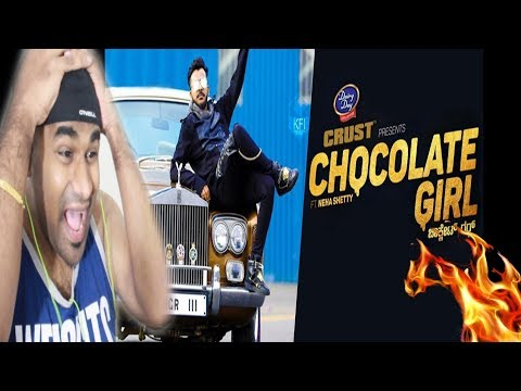 CHOCOLATE GIRL - Kannada Rapper CHANDAN SHETTY Ft. Neha Shetty | TELUGU REACTION TO KANNADA RAP