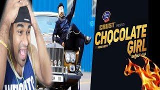 CHOCOLATE GIRL - Kannada Rapper CHANDAN SHETTY Ft. Neha Shetty   TELUGU REACTION TO KANNADA RAP