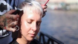 Russian Hairdressing: Имидж Студия Дениса Осипова 2016 & Technopark     Short Hairstyle 2016
