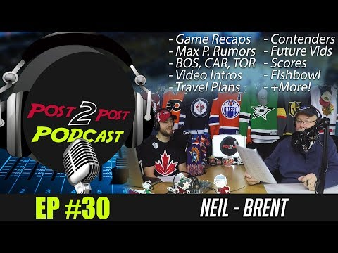 """Podcast: Ep #30 - """"Travel Plans, BOS, TOR, CHI, CAR, Contenders, Rumors, Future Videos + More!"""""""