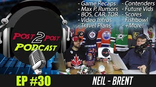 "Podcast: Ep #30 - ""Travel Plans, BOS, TOR, CHI, CAR, Contenders, Rumors, Future Videos + More!"""