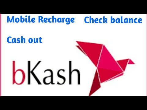 How to bkash account check  mobile recharge cash out.???????