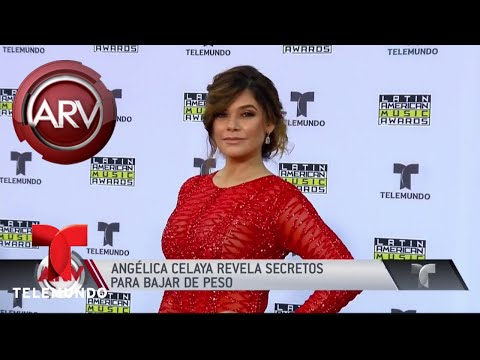 Angélica Celaya revela cómo perder de peso  Al Rojo Vivo  Telemundo