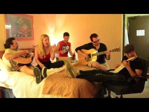 How Will I Know by Whitney Houston- Acoustic Cover by Electric Blonde and Lynzie Kent