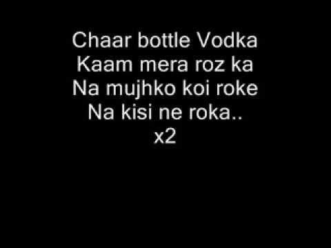 chaar bottle vodka video  720p
