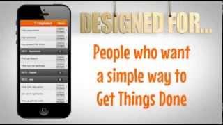 GPS ToDo Task List App Trailer