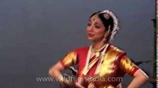 Leela Samson performs Bharatnatyam : archival footage from the formative years