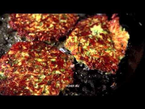 Кабачки с помидорами и чесноком на сковороде видео