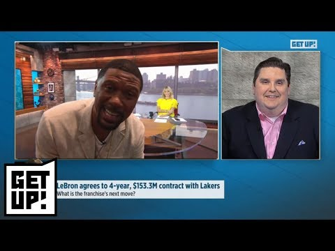 Jalen Rose gets in Brian Windhorst's face when talking Lakers' free agent moves | Get Up! | ESPN