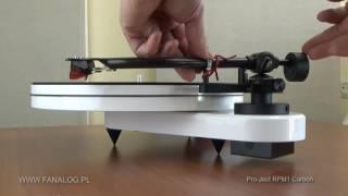 RPM1. Regulacja nacisku wkładki, część 1: Balans ramienia.