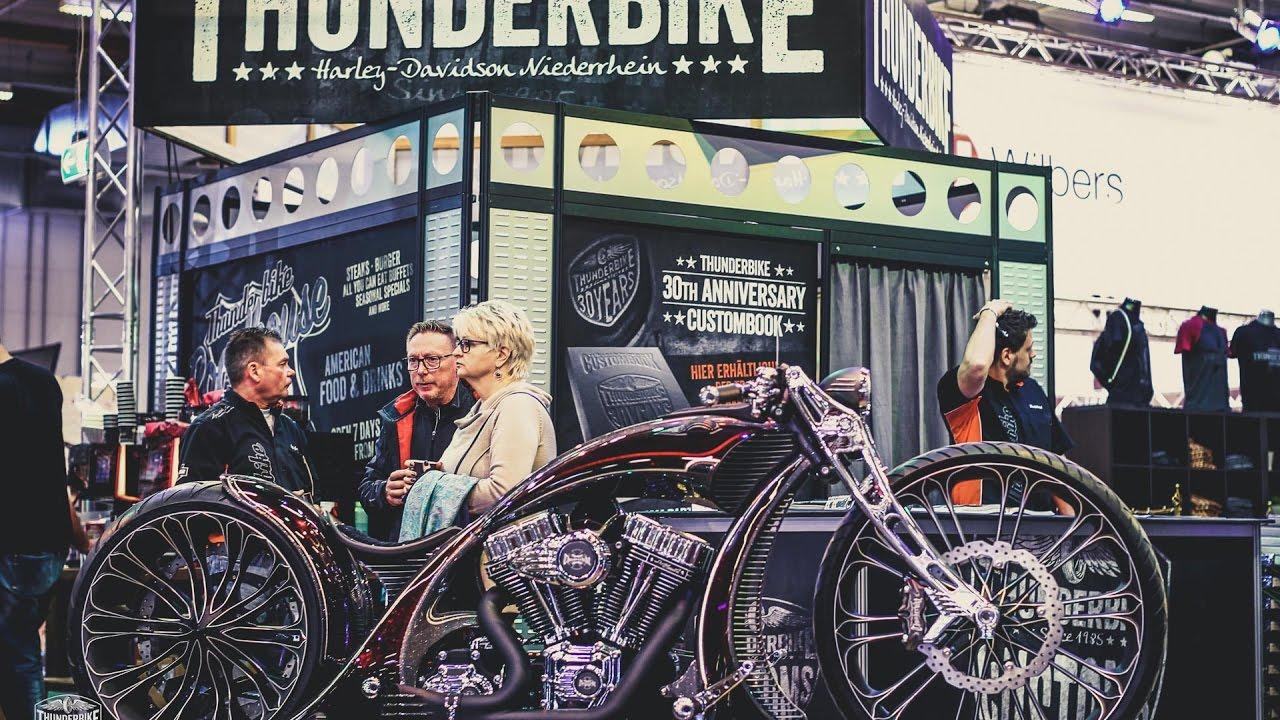thunderbike harley davidson premieren bei der custombike. Black Bedroom Furniture Sets. Home Design Ideas