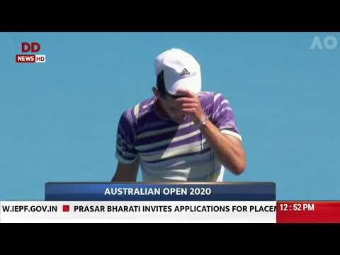 Australian Open: Rafael Nadal beats Hugo Dellein to reach second round