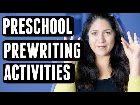 PREWRITING ACTIVITIES | Fine Motor Preschool Skills