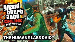 GTA 5 Heists AIRCRAFT CARRIER Raid Gameplay! GTA 5 Humane Lab Heist Walkthrough! (GTA 5 Heist DLC)