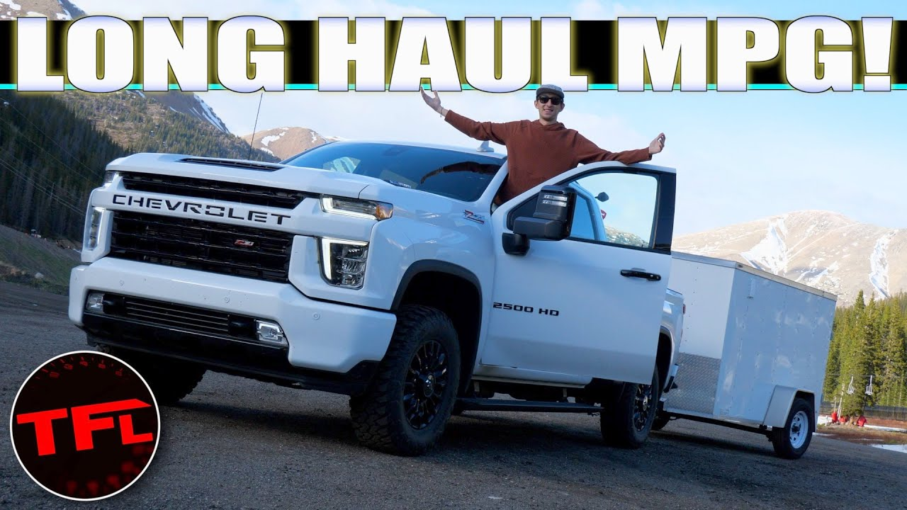 Will A Chevy Silverado HD Diesel Do A 500-Mile Towing Road Trip On ONE TANK?