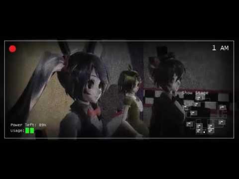 [MMD] FNAF3 - Quero Que Morra No Fogo Dublado  Vocaloid version