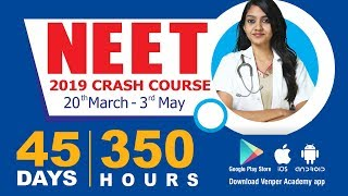 Crack NEET 2019 with Intensive Crash Course - Venper Academy