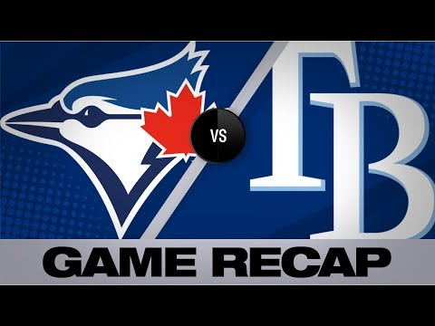D'Arnaud's Sac Fly Lifts Rays In 5-3 Win   Blue Jays-Rays Game Highlights 9/7/19