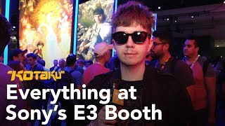 E3 2018 Sony Booth Tour with Tim Rogers