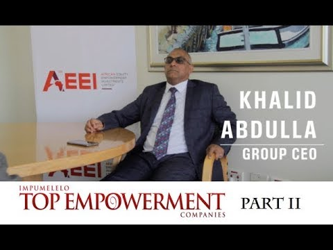 Part II | Interview with AEEI CEO Khalid Abdulla | Top Empowerment | Topco Media | 2017