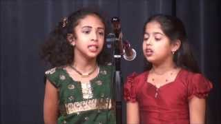 KAKC Onam 2013 - Thumbi vaa Thumbakudathin by Niranjana Pillai and Malavika Aravind