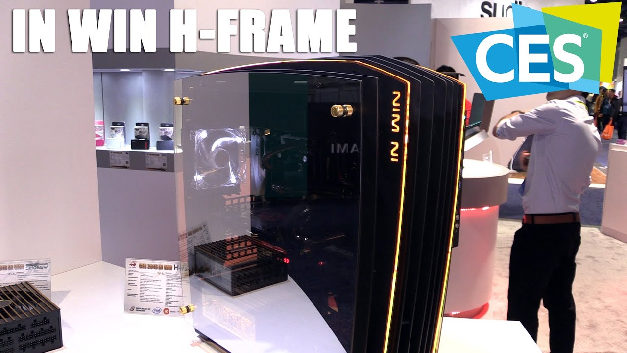 Amazing In Win H Frame 2.0 Signature Edition Full Tower (CES 2016) |  Allround PC.com   YouTube